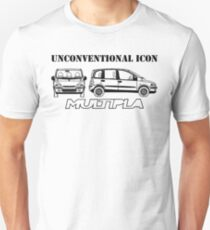 Fiat Multipla - Unconventional Icon T-Shirt
