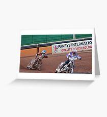 Wolves v Swindon speedway Greeting Card