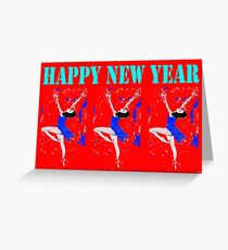 HAPPY NEW YEAR 94 Greeting Card