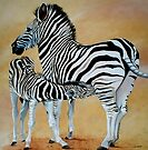 Zebra Bonding by Cherie Roe Dirksen