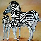 Zebra Bonding by Cherie Roe Dirksen