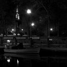 Night in the Harbor by Sam Davis