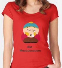 South Park - Cartman Women's Fitted Scoop T-Shirt