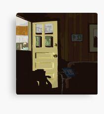 The New Yellow Door Canvas Print