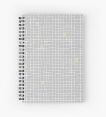Carreaux - Grey/Green - Bis Cahier à spirale