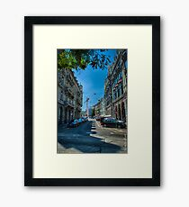 Business District Framed Print