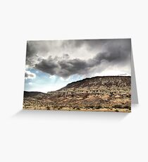 Red Rock Canyon State Park Greeting Card