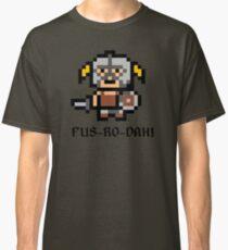8 Bit Dovahkiin Classic T-Shirt