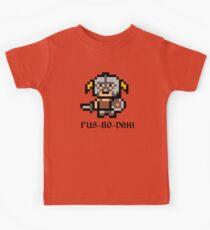 8 Bit Dovahkiin Kids Clothes