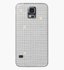 Carreaux - Grey/Yellow - Bis Case/Skin for Samsung Galaxy