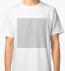 Carreaux - Gris / Jaune - Bis T-shirt classique