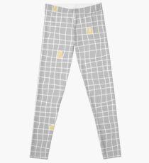 Carreaux - Grey/Yellow - Bis Leggings
