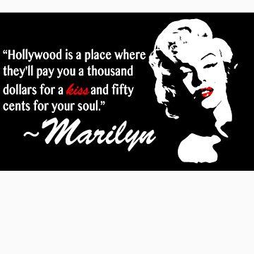 Marilyn Monroe by aparker