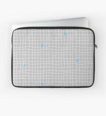 Carreaux - Grey/Blue - Bis Laptop Sleeve