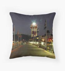 Harbour Town Lighthouse, Hilton Head Throw Pillow