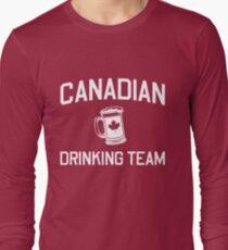 Canadian Drinking Team Long Sleeve T-Shirt