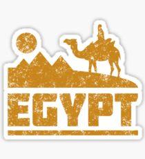 Egypt Pyramids and Camel Sticker