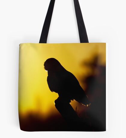 Night Owl - Snowy Owl Tote Bag