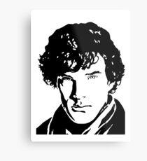 Benjamin Cumberbatch Sherlock Holmes Metal Print