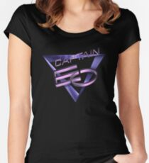 Captain EO Fitted Scoop T-Shirt