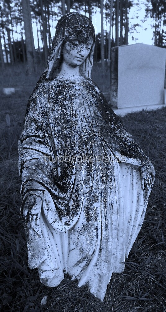 Aged Mother Mary 3 by twobrokesistas