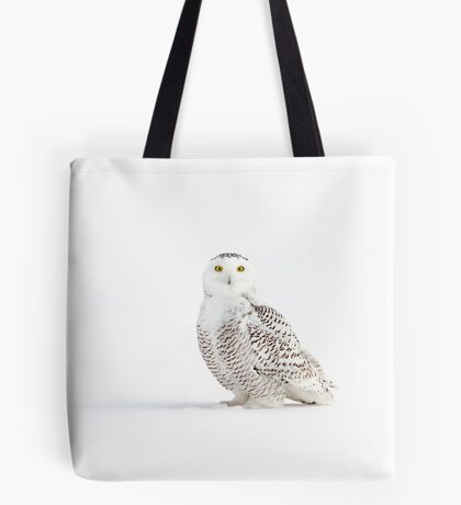 Cast a shadow - Snowy Owl Tote Bag