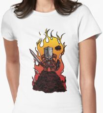 Dragon Crasher Women's Fitted T-Shirt