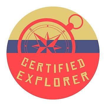 Certified Explorer by CharlieWBY