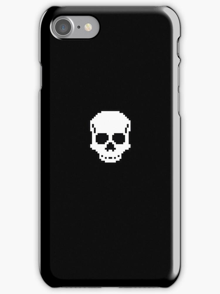 Pixel Skull by TyCart
