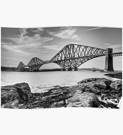 Forth Bridge, Scotland Poster
