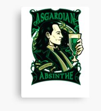 Asgardian Absinthe Canvas Print
