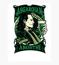 Asgardian Absinthe Photographic Print