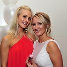 Two Beautiful Girls. Brisbane, Queensland, Australia.  by Ralph de Zilva
