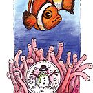 kmay xmas clown fish by Katherine May