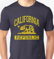 California Bear Republic (Vintage Distressed) Slim Fit T-Shirt