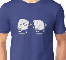 Funny CTRL ESC Keys Unisex T-Shirt