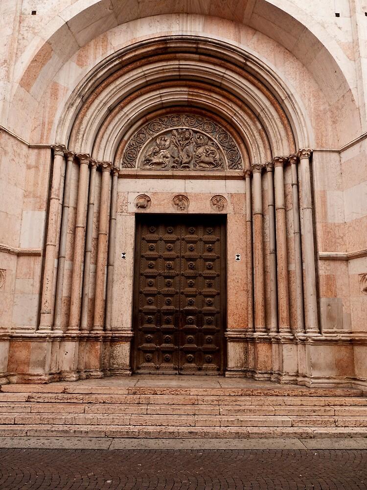 Baptistery Doors by Rae Tucker