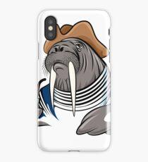 Smoking Walrus iPhone Case/Skin