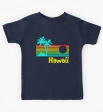 Vintage 80s Hawaii (Distressed Design) Kids Tee