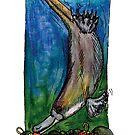 kmay xmas diving platypus by Katherine May