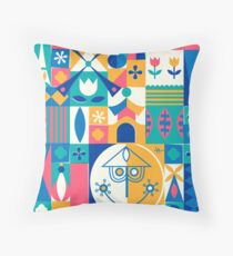 A Small World Throw Pillow