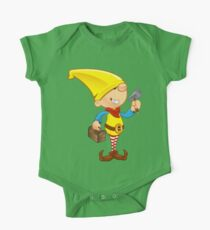 Elf Character - Hammer & Toolbox One Piece - Short Sleeve