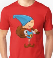 Elf Character - Holding A Sack Unisex T-Shirt