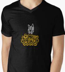 Mr Miao Men's V-Neck T-Shirt