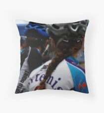 Biker Chicks Throw Pillow