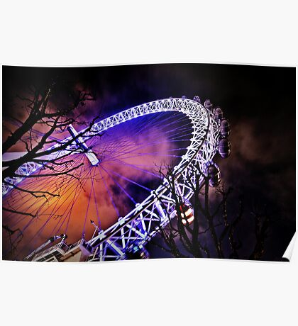 The eye of London a secondary perspective  Poster