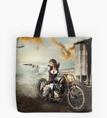 The Steampunk Warrior  Tote Bag