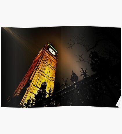 Big Ben an artistic perspective Poster
