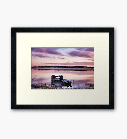 Lilac dawn Framed Print