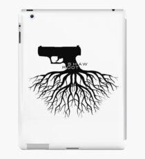 Person von Interesse - Shaw + Root = Schießen iPad-Hülle & Skin